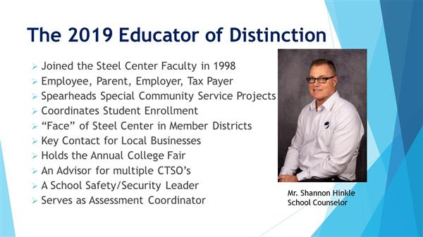 Educator of Distinction